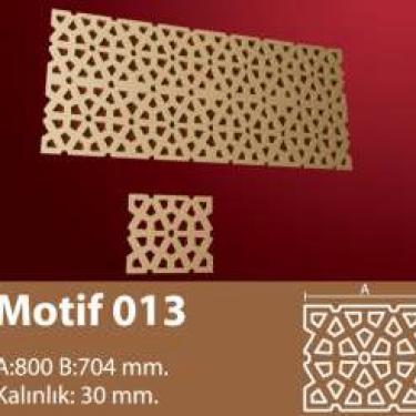 MOTİF 13
